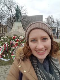 At Kossuth's statue